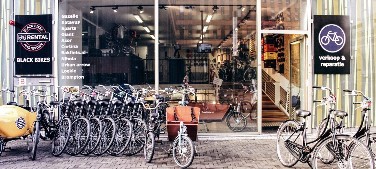 Black Bikes Zuidas