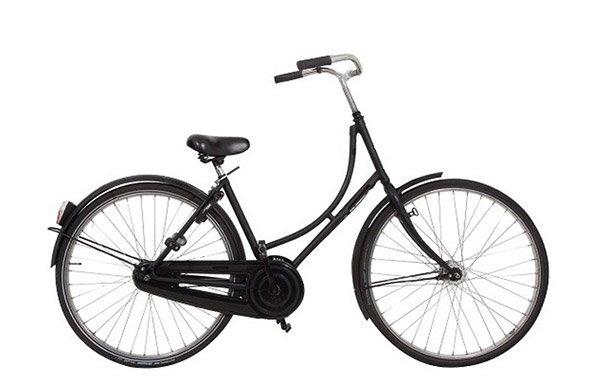 Pedal brake rental bike